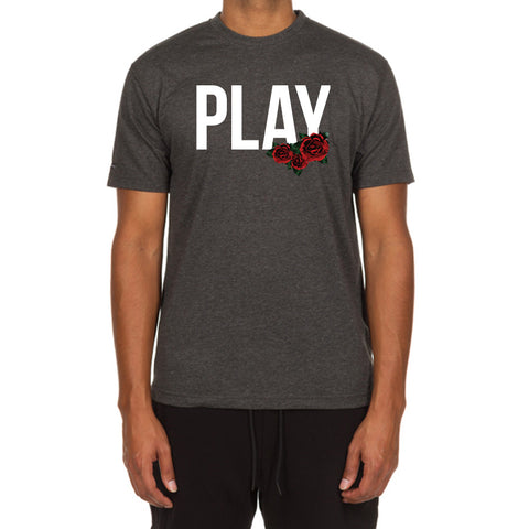 Rose Play SS Tee (Heather Charcoal)