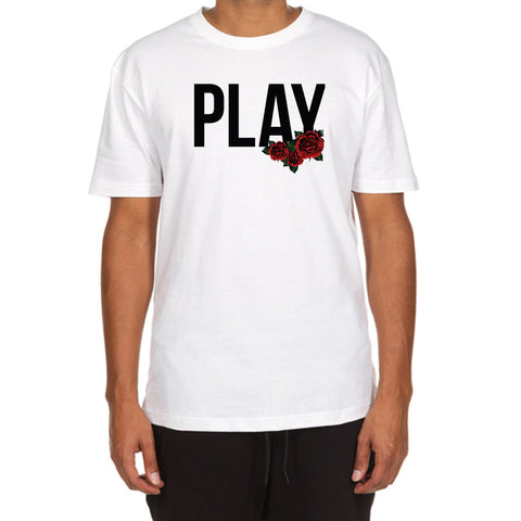 Rose Play SS Tee (White)