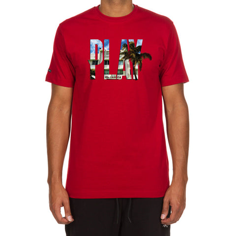 Hotel Play SS Tee (Chili Pepper)