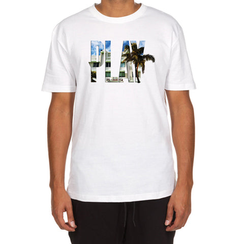 Hotel Play SS Tee (White)