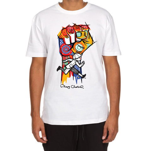 Stand Up SS Tee (White)