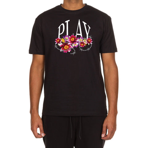 Wildflower SS Tee (Black)
