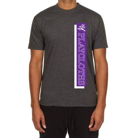 Bar SS Tee (Heather Charcoal)