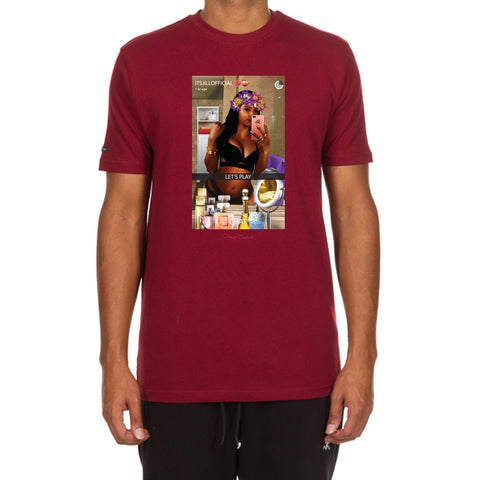 Chat SS Tee (Cordovan)