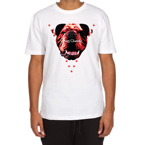 Red Bully SS Tee (White)