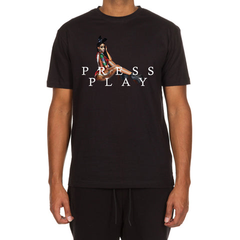 Press Play SS Tee (Black)
