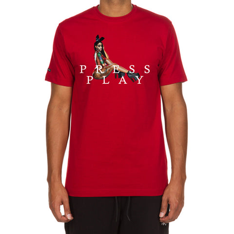 Press Play SS Tee (Chili Pepper)