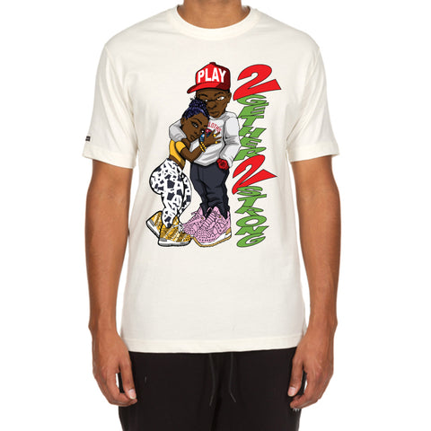2 Strong SS Tee (Egg Nog)