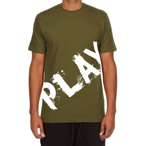 Painted Play SS Tee (Military Green)