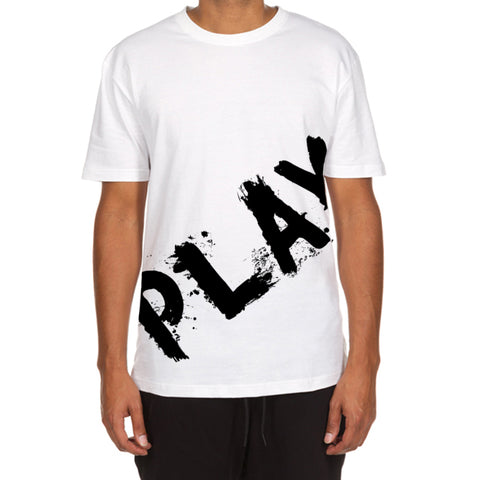 Painted Play SS Tee (White)