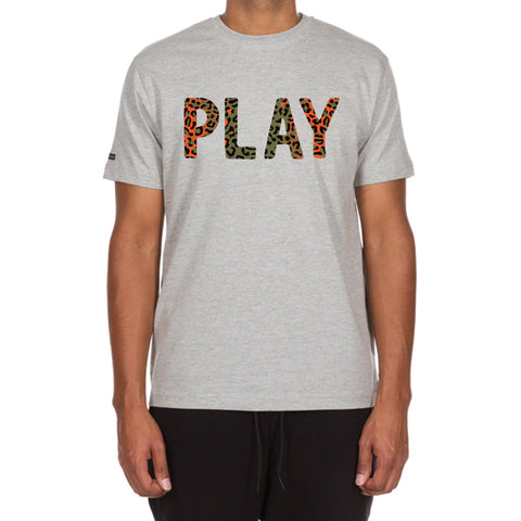 Jungle Play SS Tee (Athletic Heather)