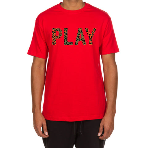 Jungle Play SS Tee (Red)