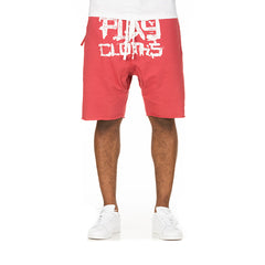 Tanto Sweat Shorts (Mineral Red)