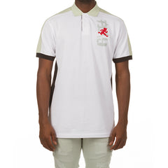 Gauntlet SS Polo (Bleach White)