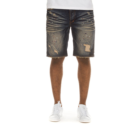 Nagoya Denim Short (Basenji Wash)