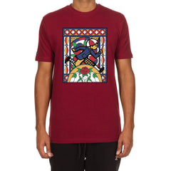 Window 2 SS Tee (Burgundy)