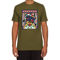 Window 2 SS Tee (Military Green)