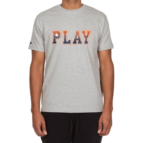 Play Maze SS Tee (Heather Grey)