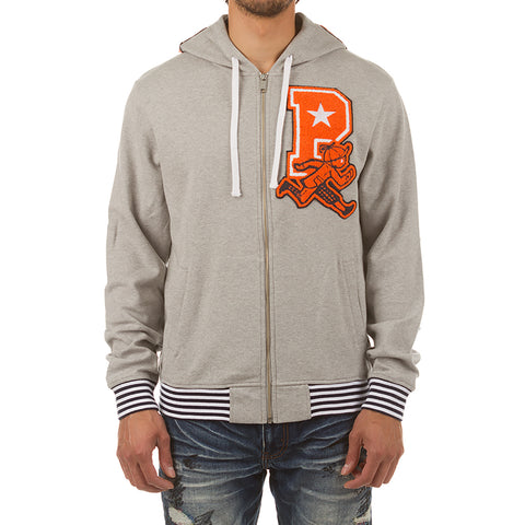 Power 10 Hoodie (Heather Grey)