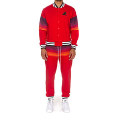 Night Sky Sweatsuit (Racing Red)