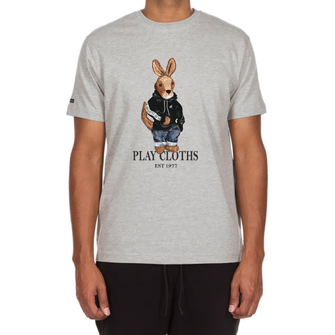 Roo Plush SS Tee (Heather Grey)