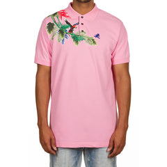 Canopy SS Polo (Prism Pink)