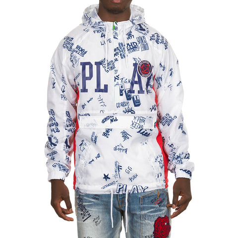 Study Hall Anorak (White)