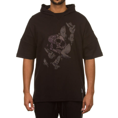 Colony SS Hooded Knit (Caviar)