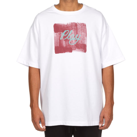Play Paint SS Knit (White)
