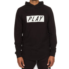 Opaque Hooded LS Knit