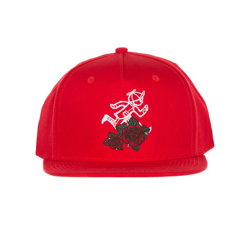 Jack Rose Snap Hat (Tango Red)