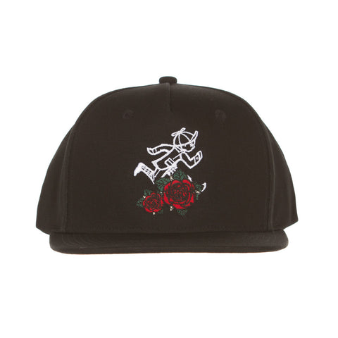 Jack Rose Snap Hat (Black)