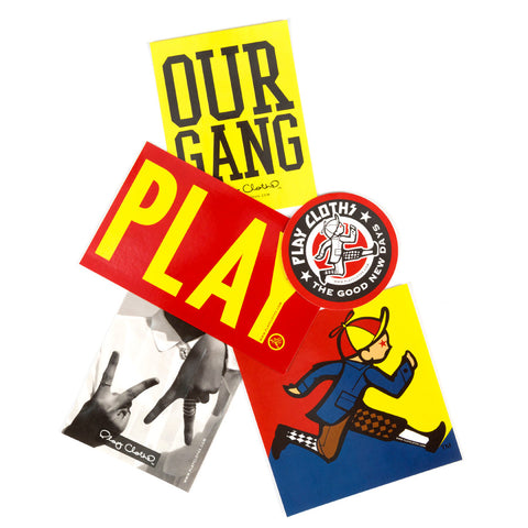 Play Cloths Sticker Pack