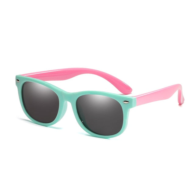 New Flexible Polarized Kids Sunglasses UV400