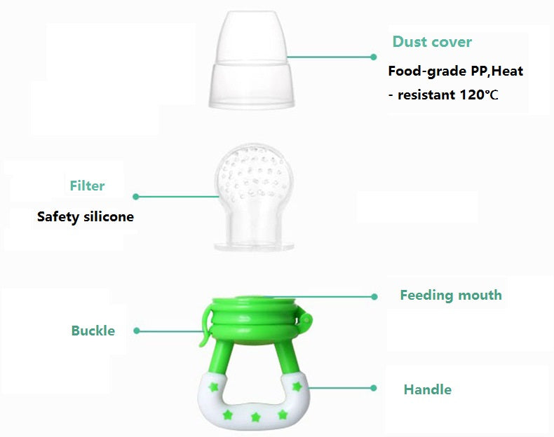 Fresh Food Nibbler Baby Pacifier Feeder