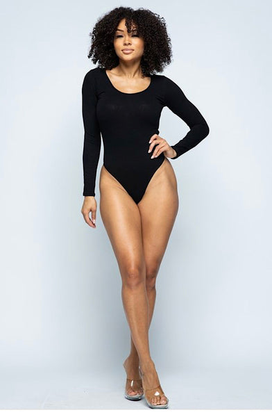Signature Bodysuit - Black