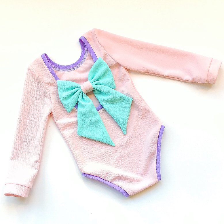 Dream Land Bow Back Bodysuit