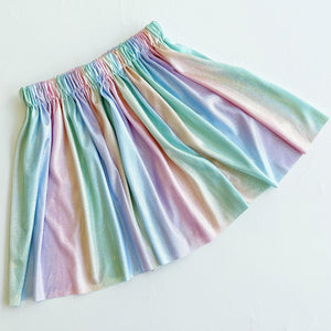 Shimmer shimmer mama and mini skirt