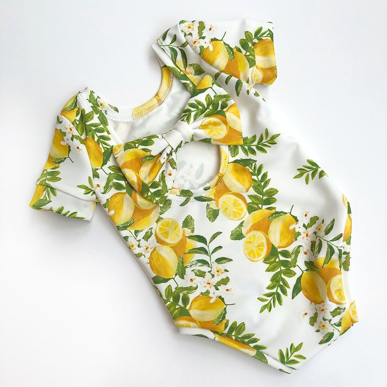 Lemonade Bow Back Bodysuit