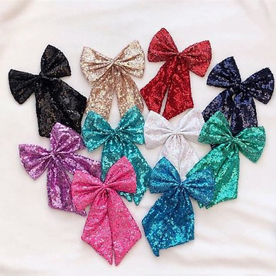 Deluxe Sequin Interchangeable bows
