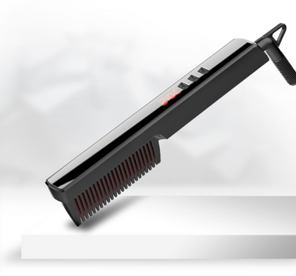 Hair Beard Straightener Heating Comb Multifunctional Styling Tool - HomegoPlus