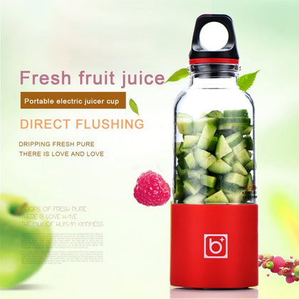 500ml 4 Blade Portable Blender Juicer - HomegoPlus