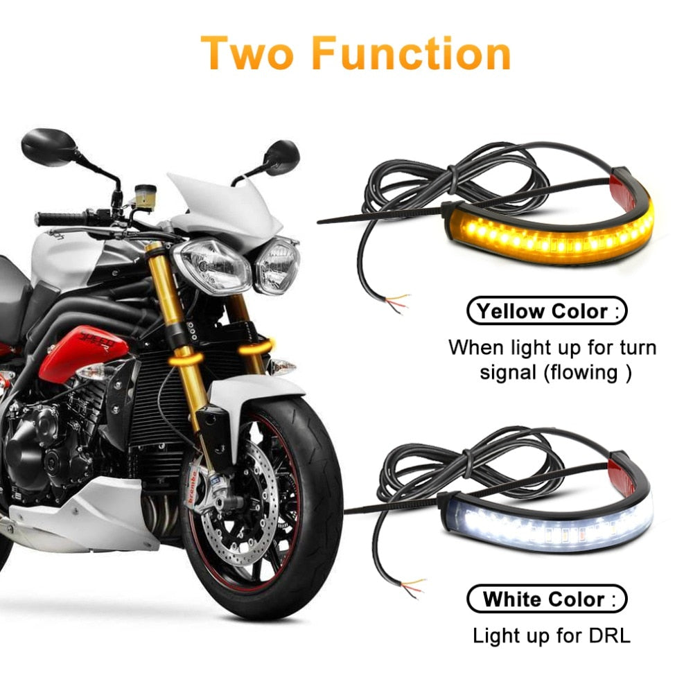1Pc Universal LED Motorcycle Turn Signal Light