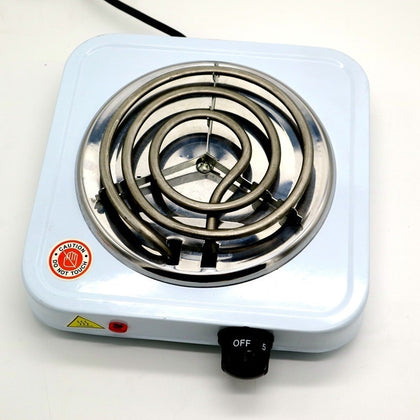 Electric Stove Hot Plate Burner Travel Cooking Appliances Portable - HomegoPlus