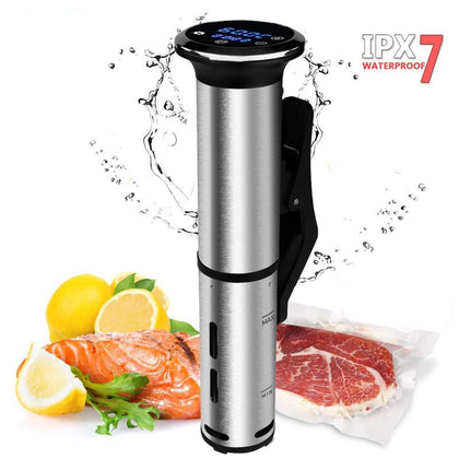 2nd Generation Stainless Steel Sous Vide Cooker Waterproof - HomegoPlus
