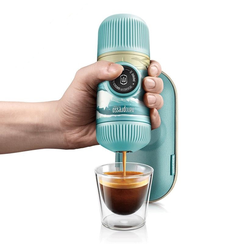 Portable Espresso Maker 18 Bar Pressure