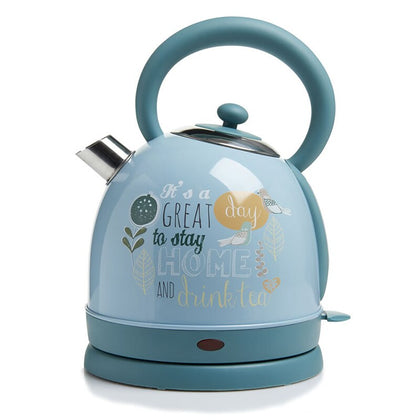 1850W 220V retro 304 stainless steel electric kettle - HomegoPlus