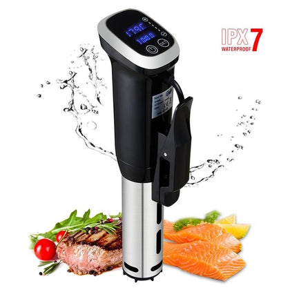 2nd Generation IPX7 Waterproof Vacuum Sous Vide Cooker - HomegoPlus