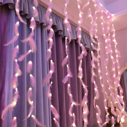 LED Fairy Light USB Garland On Window Curtain Decoration