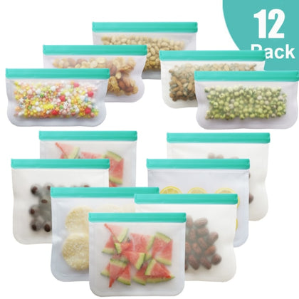 Silicone Bag PEVA Silicone Food Storage Bag Containers - HomegoPlus